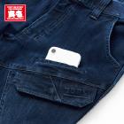 左カーゴポケットの上にモバイルポケット