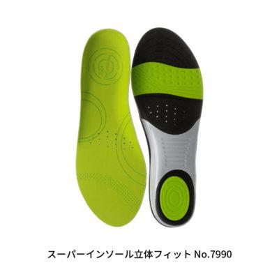 スーパーインソール立体フィット No.7990